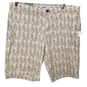 GoodFellow pineapple Shorts Size 38